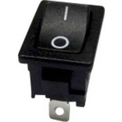 Vippströmbrytare 250 V/AC 6 A 1x Av/(På) SCI R13-66F-02 momentan 1 st