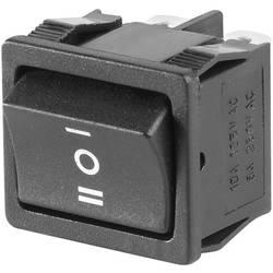 Vippströmbrytare 250 V/AC 6 A 2x På/Av/På SCI R13-33D-02 låsande/0/låsande 1 st