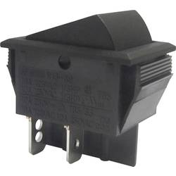 Vippströmbrytare 250 V/AC 10 A 2x Av/På SCI R13-69A-01 låsande 1 st