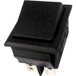 Vippströmbrytare 250 V/AC 10 A 2x På/På SCI R13-69C-01 låsande 1 st