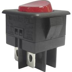 SCI Klecno stikalo, 16 A R13-104B-01 RED ACTUATOR Vklop/izklop 250 V/AC 10 A