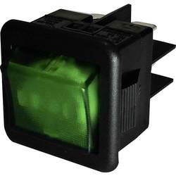 Vippströmbrytare 250 V/AC 10 A 1x Av/På SCI R13-105B-01 låsande 1 st