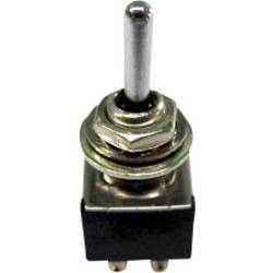Prevesno stikalo 250 V/AC 3 A 2 x vklop/izklop/vklop TRU Components TC-TA203A1 zaskočno/0/zaskočno 1 kos