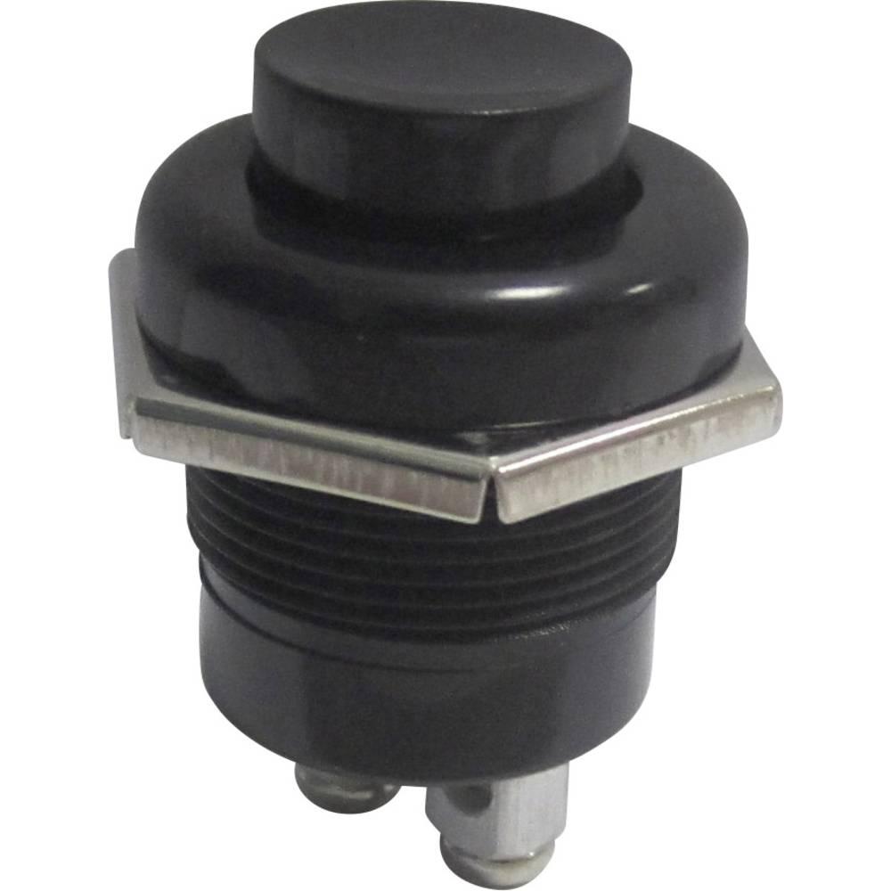 Avtomobilska pritisna tipka 24 V/DC 10 A 1 x izklop/(vklop) tipkalno TRU Components TC-A2-5A 1 kos