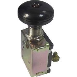 Avtomobilsko potezno stikalo 12 V/DC 30 A 1 x izklop/vklop zaskočno TRU Components TC-A3-26L-SC M4 LED rdeče barve 1 kos