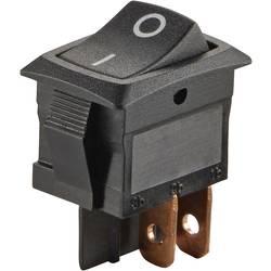 Vippströmbrytare 250 V/AC 6 A 2x Av/På SCI R13-166PF-02 låsande 1 st