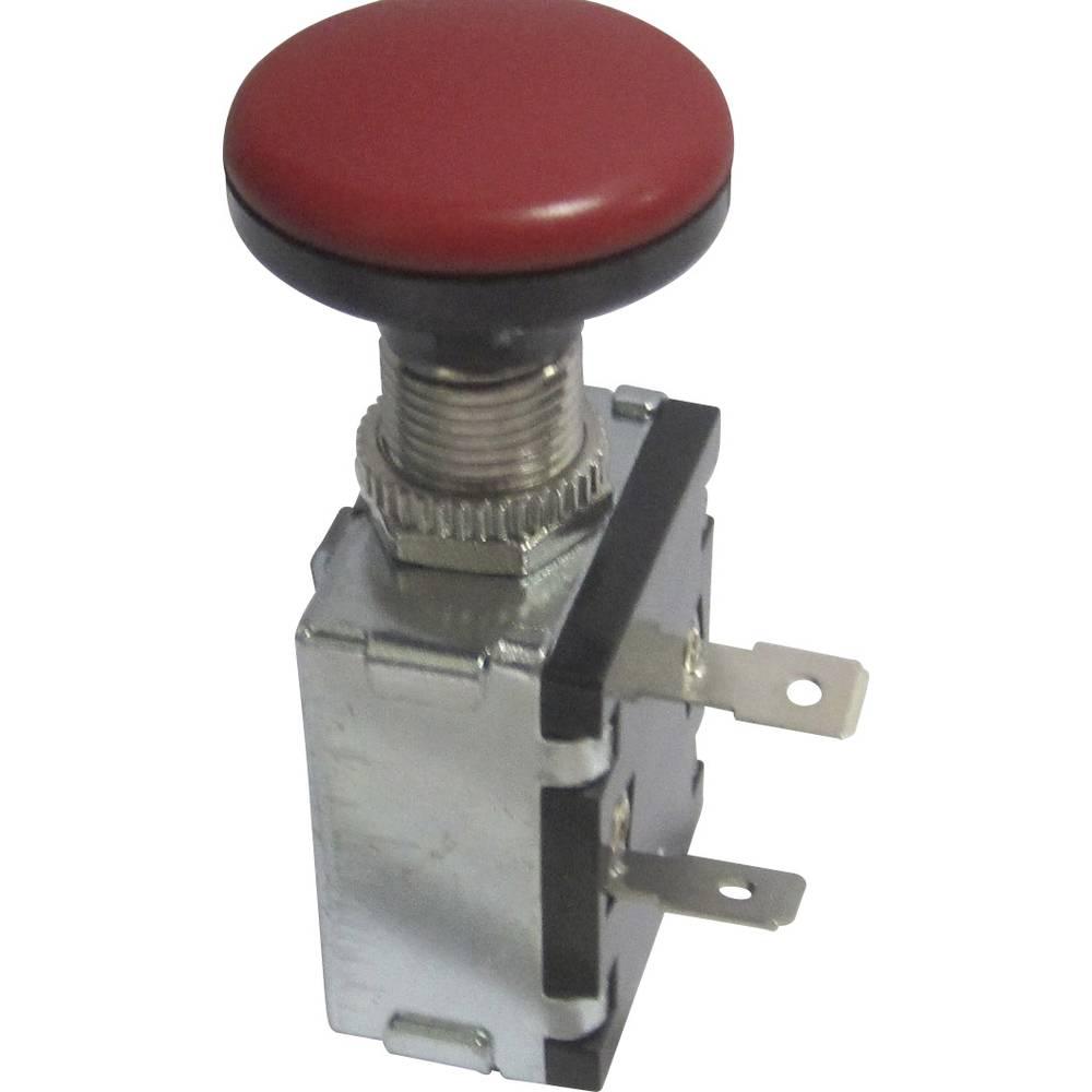 SCI Automobilski potezni prekidač12 V/DC 30 A A3-26B-SQ crveni isklop/uklop