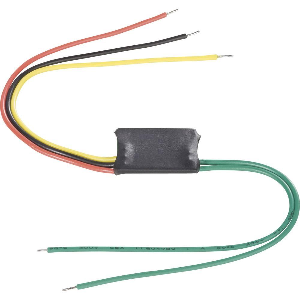 Pretvornik za stikalno zapordeče barveje 35 V 1.5 A 1 x izklop/vklop TRU COMPONENTS tipkalno 1 kos