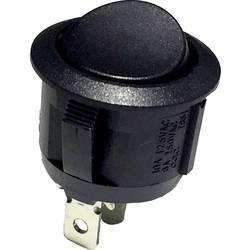 Okretni prekidač 250 V / AC 6 A 1 x On / (On) R13-112G B / B utorivanje 1 kom (s)