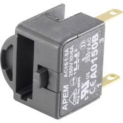 Kontaktelement 2 Öffner (value.1345273) Tastende 380 V/AC APEM A02511 1 stk
