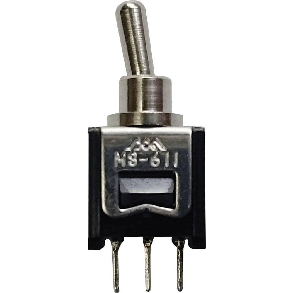 621C-Preklopni prekidač, 60 V/DC, 0.15A, 1 x uključeno/isključeno/uključeno, zaskočni/0/zaskočni, 1 komad