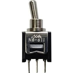 TRU COMPONENTS 611A prevesno stikalo 250 V/AC 0.15 A 1 x vklop/vklop zaskočno 1 kos