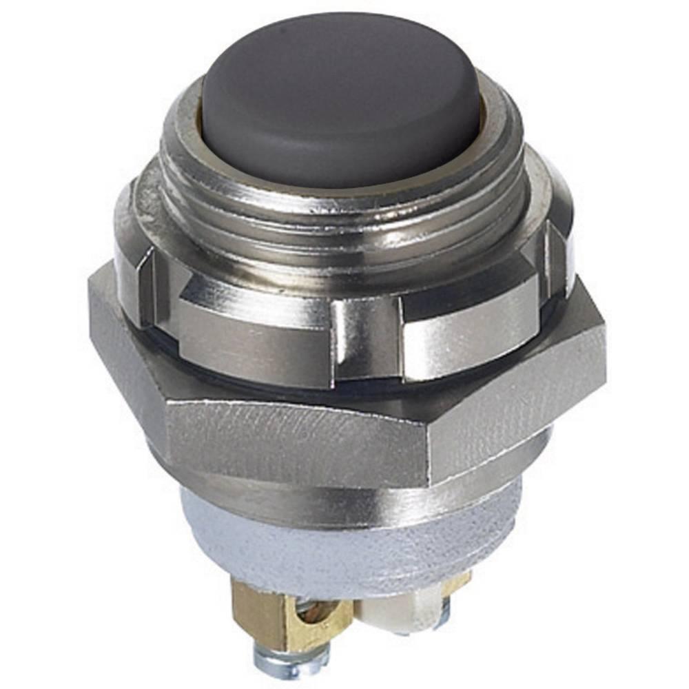 APEM IZMR3S46N-Potisna tipka, okruglo, 250 V/AC, 48 V/DC, 0.2A, 1 x isključeno/(uključeno), IP67, tipkalno, 1 komad