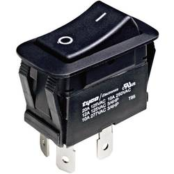 Vippströmbrytare 250 V/AC 10 A 1x Av/På TE Connectivity 1571095-2 låsande 1 st