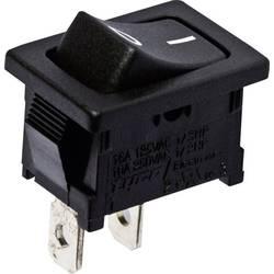 Vippströmbrytare 250 V/AC 10 A 1x Av/På TE Connectivity 1-1571076-0 låsande 1 st