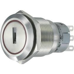 Stikalo na ključ z zaščito pred vandlizmom 250 V/AC 5 A 1 x vklop/vklop 1 x 90 ° TRU Components LAS1-AGQ-11Y/21 IP65 1 kos