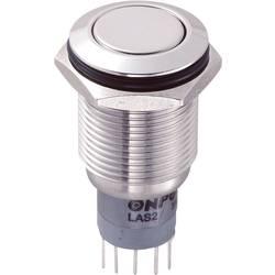 Pritisna tipka sa zaštitom od vandalizma 250 V/AC 3 A 2 x uklop/(uklop) TRU Components LAS2GQF-22/S/P IP65 s povratom 1 kom.