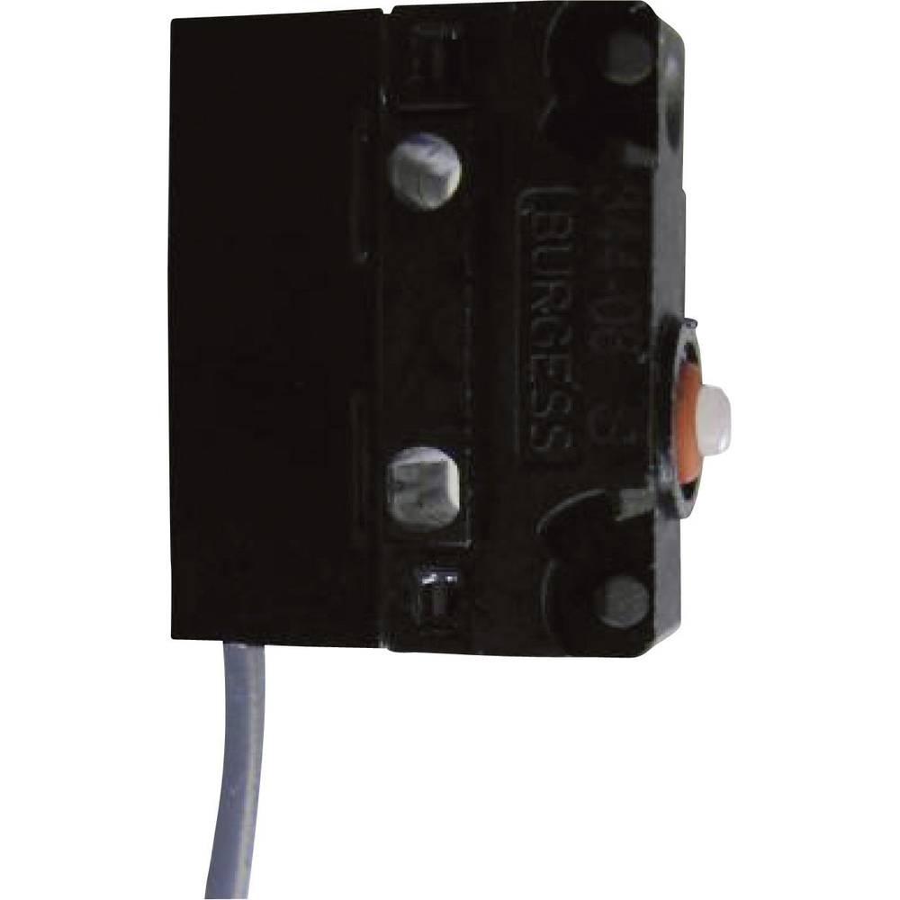 Saia V4NCS2A1-0,5M-Mikro prekidač 250 V/AC, 5A, 1 x uključeno/(uključeno), stranski odvod pramenke, 500mm, IP67, tipkalno, 1 kom