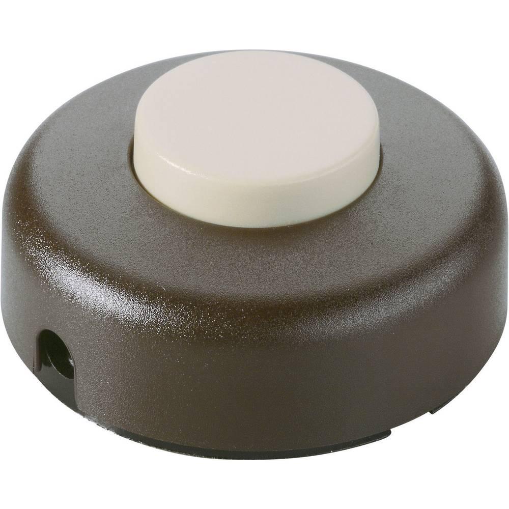 InterBär Pohodno vmesno vrvično stikalo 1 polno, stikalo zaizklop 2 (1) A/250 V/AC 5062-509.01