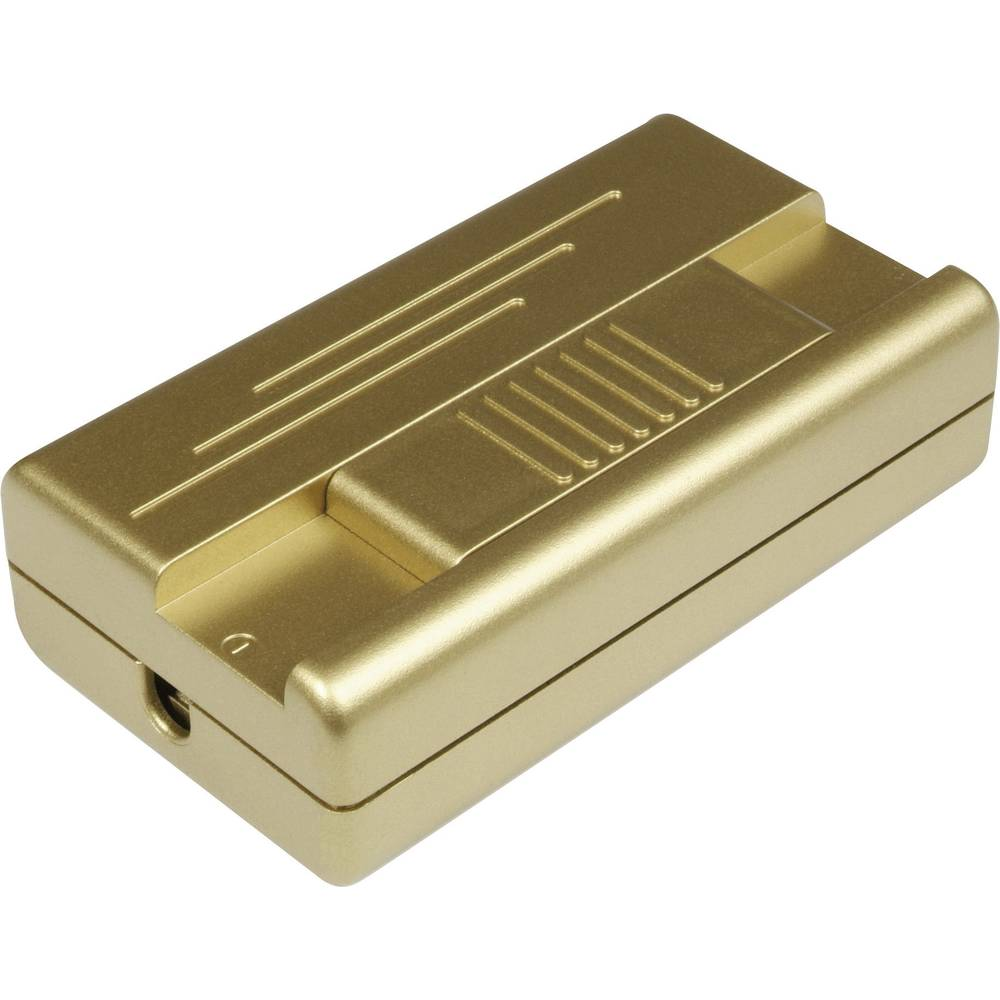 Vrvični zatemnilnik, zlate barve, preklopna moč (min.) 20 W preklopna moč (maks.) 400 W Ehmann 2551C0100 1 kos