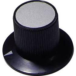 Vrtljivi gumb, črne barve (Ø x V) 29 mm x 20 mm TRU COMPONENTS 29/17 1 kos