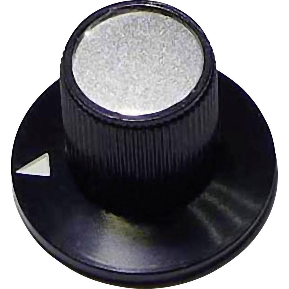 Rotirajuči gumb crna promjer osi 6 mm