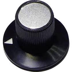 Vrtljivi gumb, črne barve (premer x V) 23 mm x 17 mm TRU COMPONENTS 23/12 1 kos