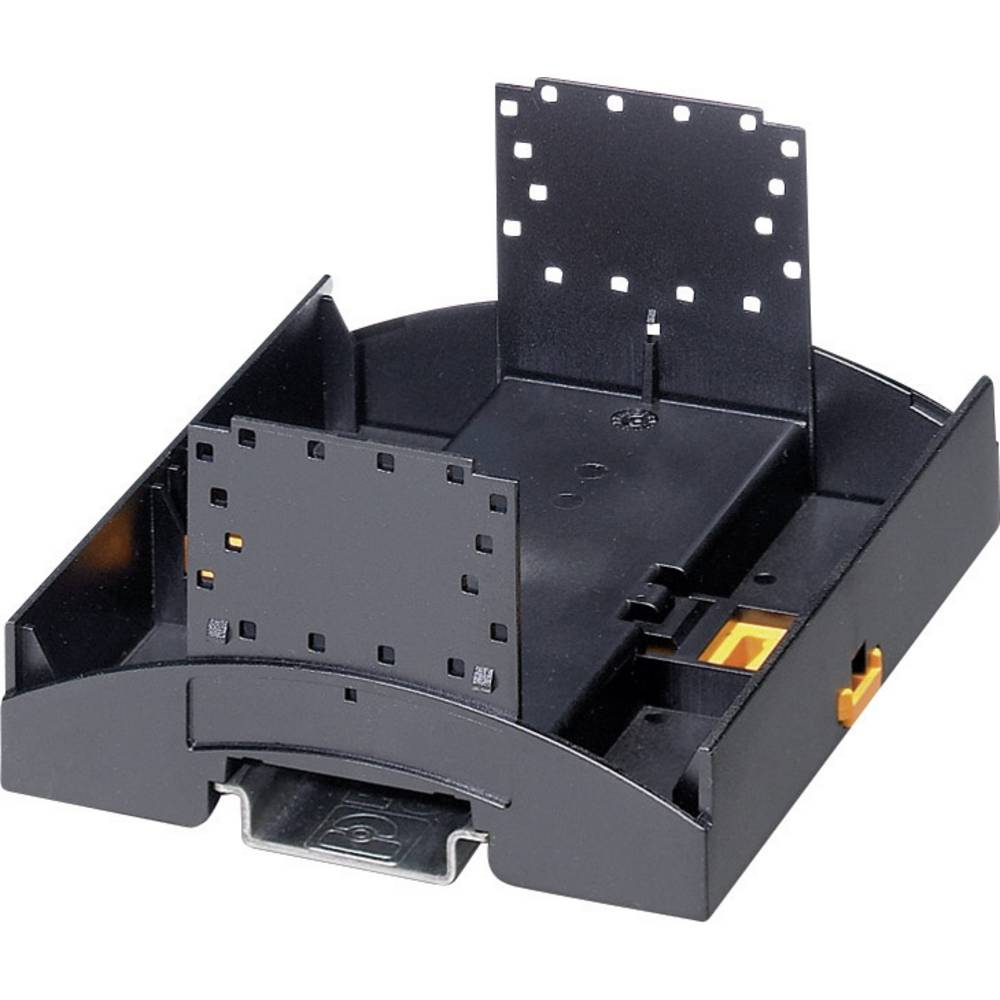 Kućište za DIN-letvu, donji dio 89.7 x 53.6 x 62.6 polikarbonat crne boje Phoenix Contact BC 53,6 UT HBUS BK 1 kom.