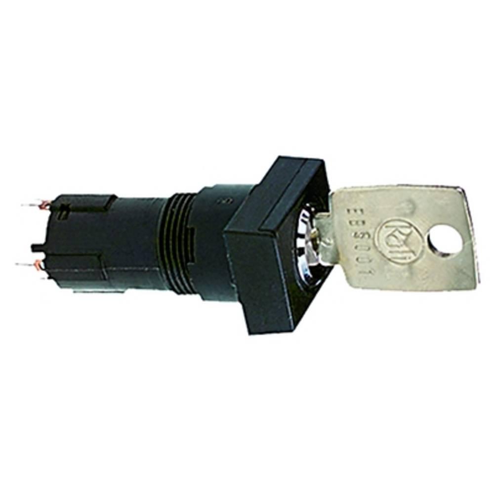 Zaklepno stikalo, 35 V 0.1 A 1 x izklop/vklop/vklop 2 x 90 ° RAFI 1.10.118.313/0000 IP65 2 kosa