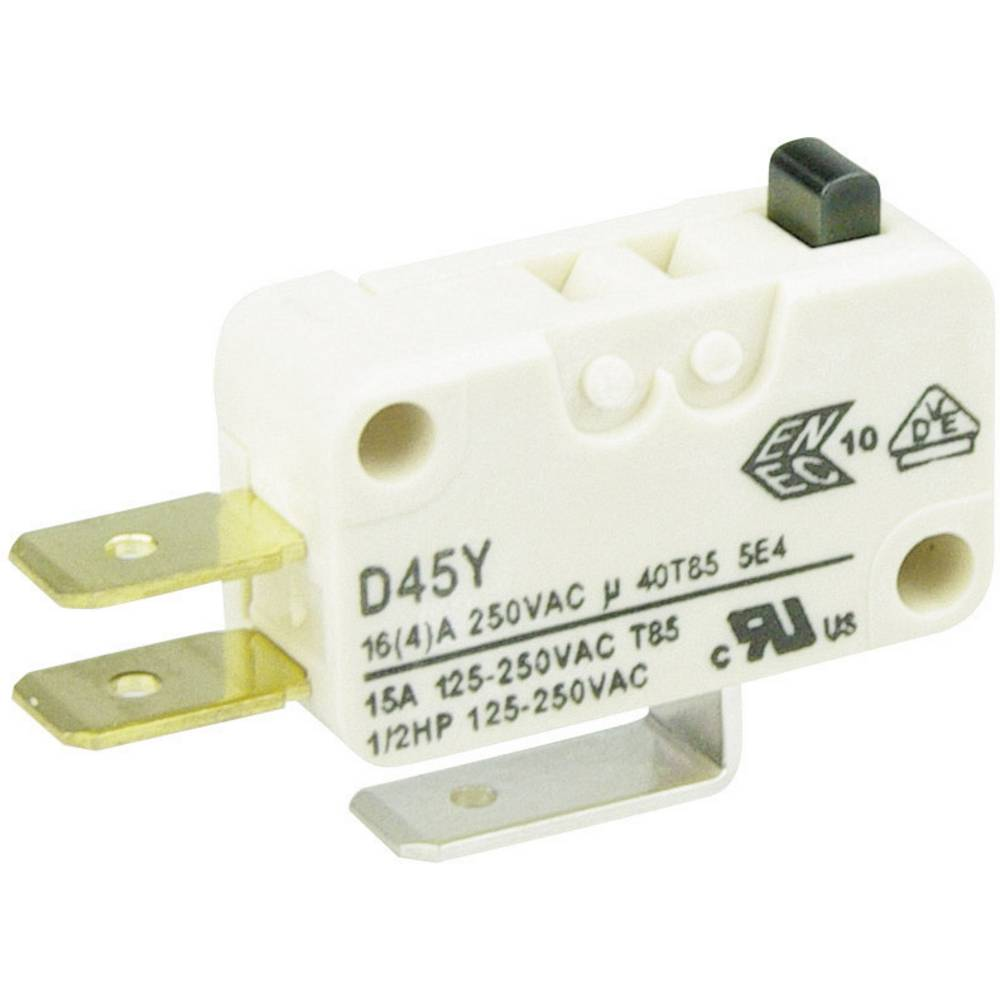 Cherry Switches Minijaturni prekidač D4 250 V/AC D453-V1AA 1preklopni kontakt