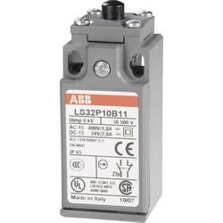ABB Positionsafbryder 400 V/AC, 1,8 A, LS31P LS32P10B11 1 sluttekontakt, 1 brydekontakt Trykbolte