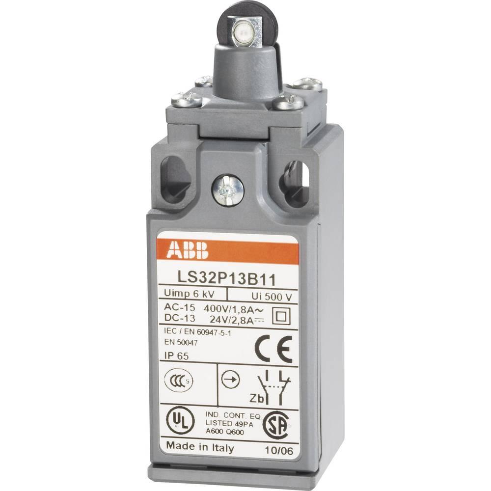 Konačni prekidač 400 V/AC 1.8 A podizač s valjkom, pritisni ABB LS32P13B11 IP65 1 kom.