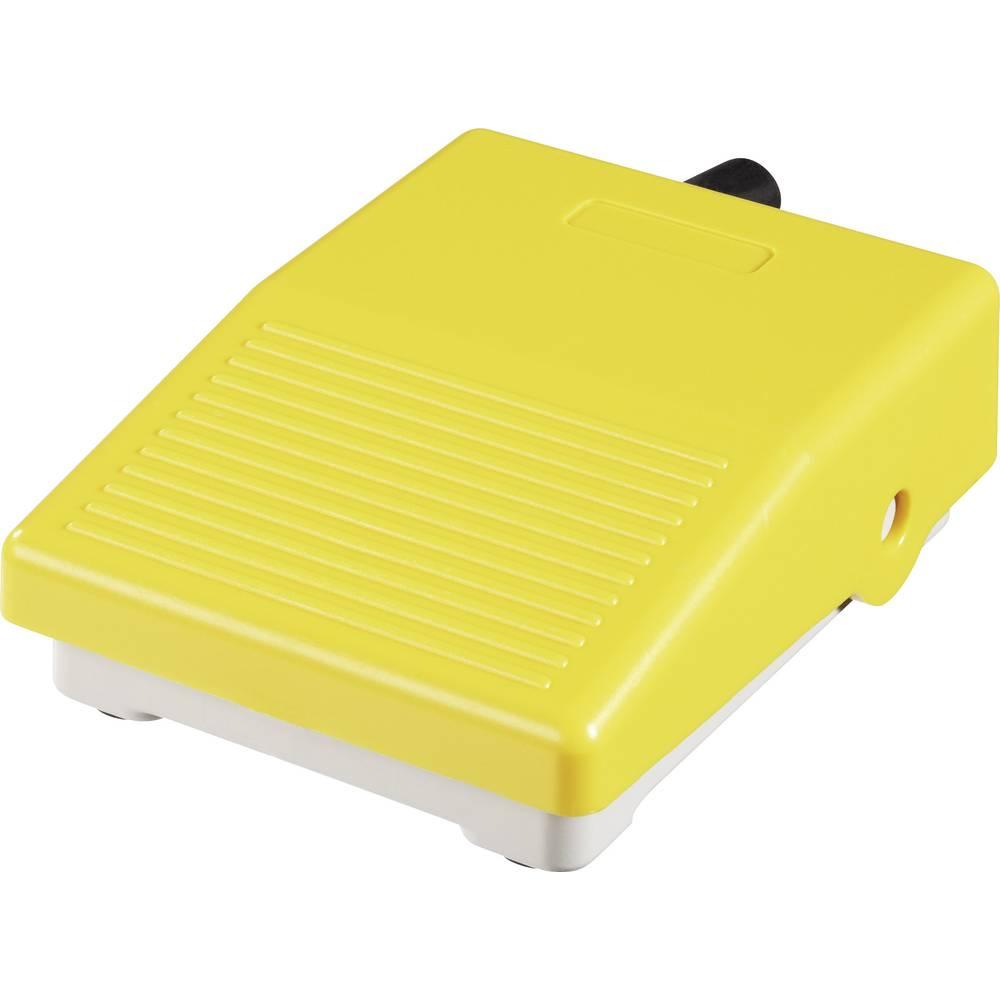 ABB Mini nožno stikalo ohišjeiz umetne mase rumeno 1 x preklopni kontakt 250 V/AC 15 A 1SBV001105R1823