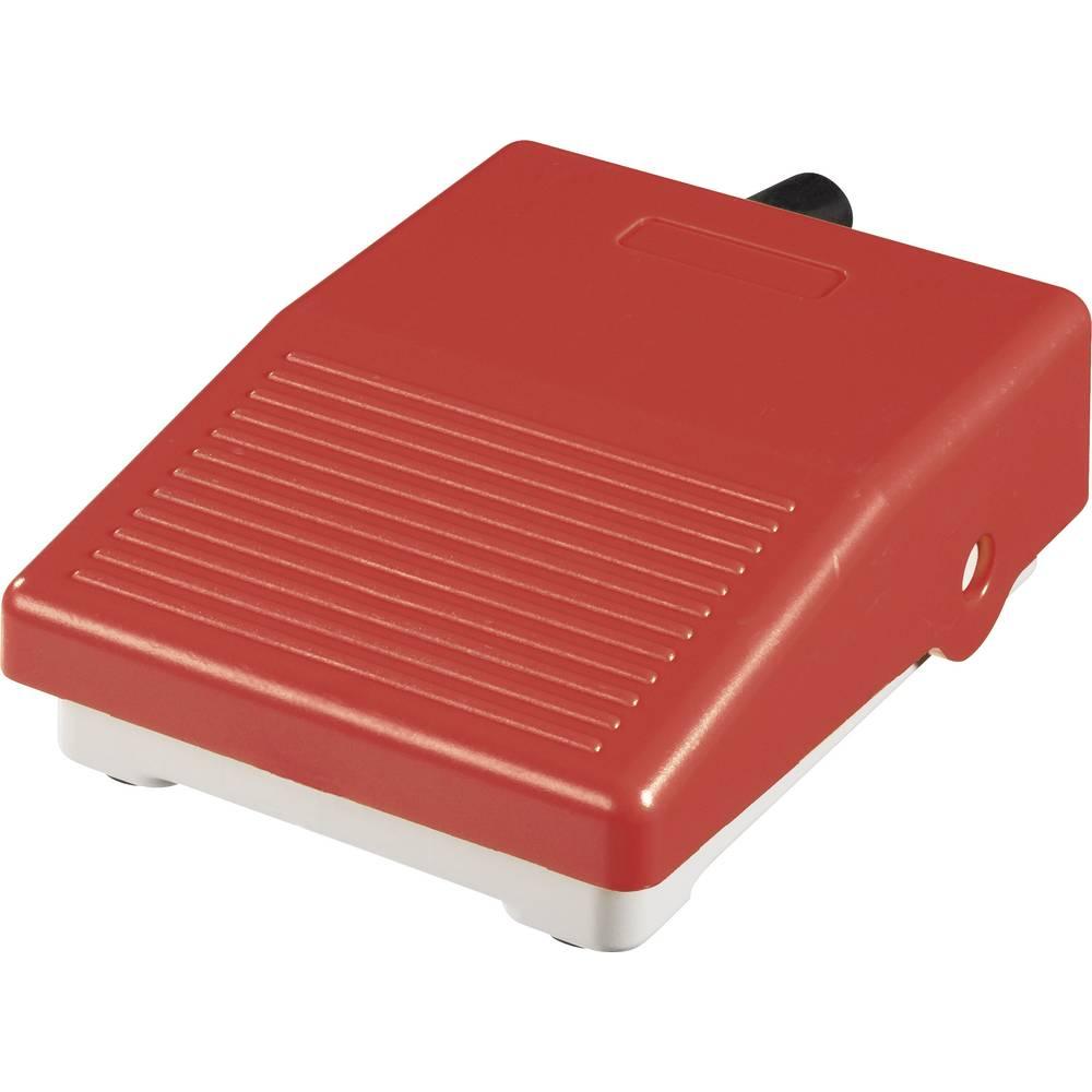 ABB Mini nožno stikalo ohišjeiz umetne mase rdeče 1 x preklopni kontakt 250 V/AC 15 A 1SBV001108R1823