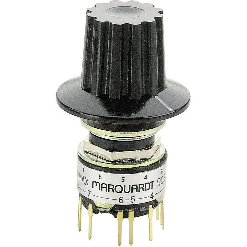 Minijaturni rotacijski prekidač serije 9037 9037.0200 Marquardt