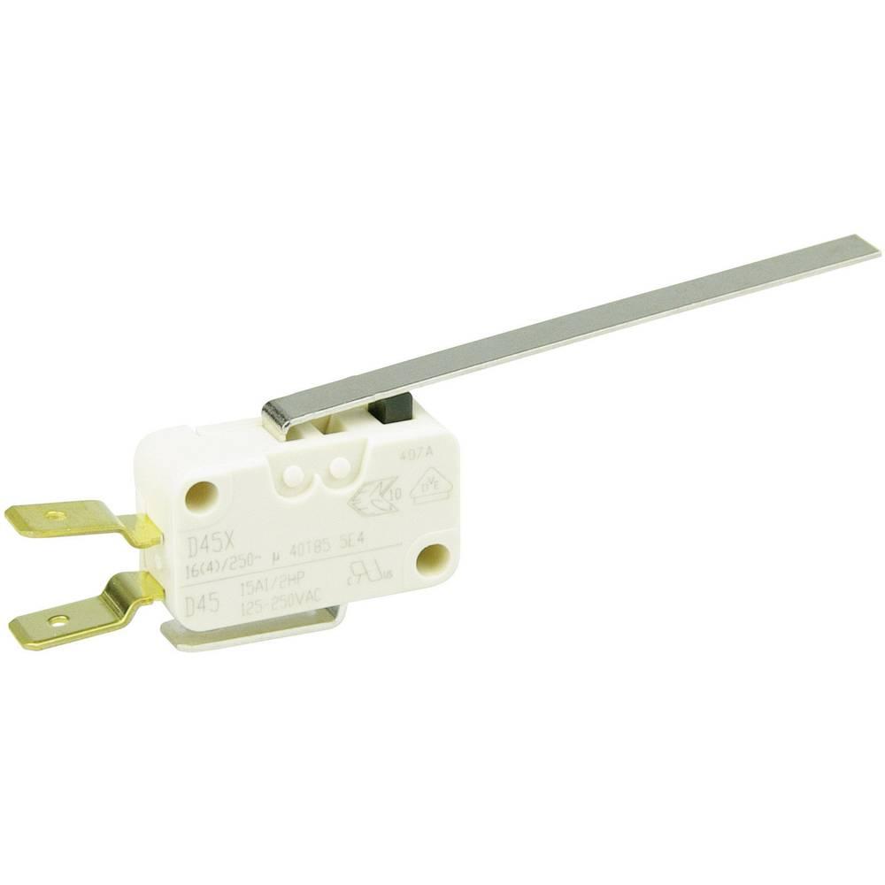 Cherry Switches Minijaturni prekidač D4 250 V/AC D459-V3LL 1preklopni kontakt