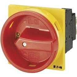 Eaton T0-2-1/EA/SVB-Odmični prekidač sa zaključavanjem, 20A, 1x90°, žut, crven, 6.5kW, 1 komad 38873