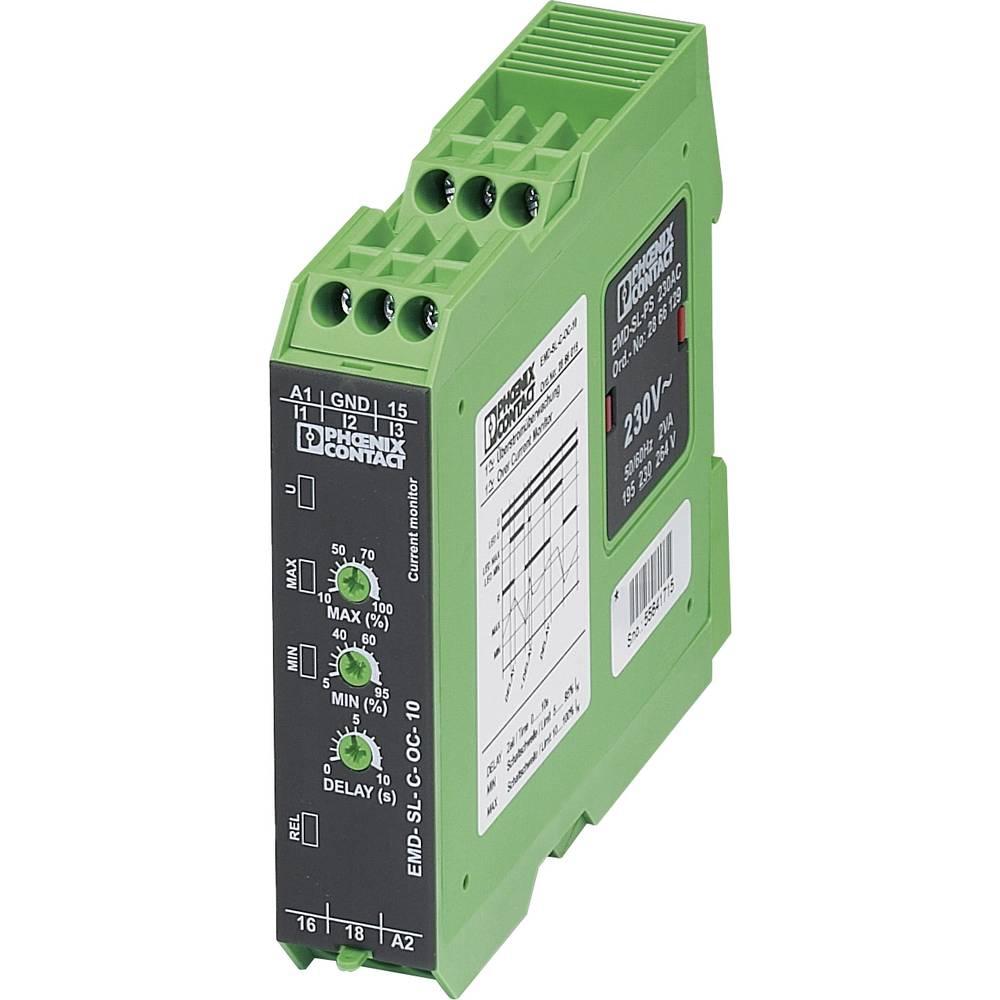 Nadzorni rele 1 pretvornik 1 kos Phoenix Contact EMD-SL-C-OC-10 1-fazni, tokovni, nadtokovni