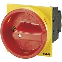 Eaton T3-1-102/EA/SVB-Odmični prekidač sa zaključavanjem,, 32A, 1x90°, žut, crven, 13kW, 1 komad 14374
