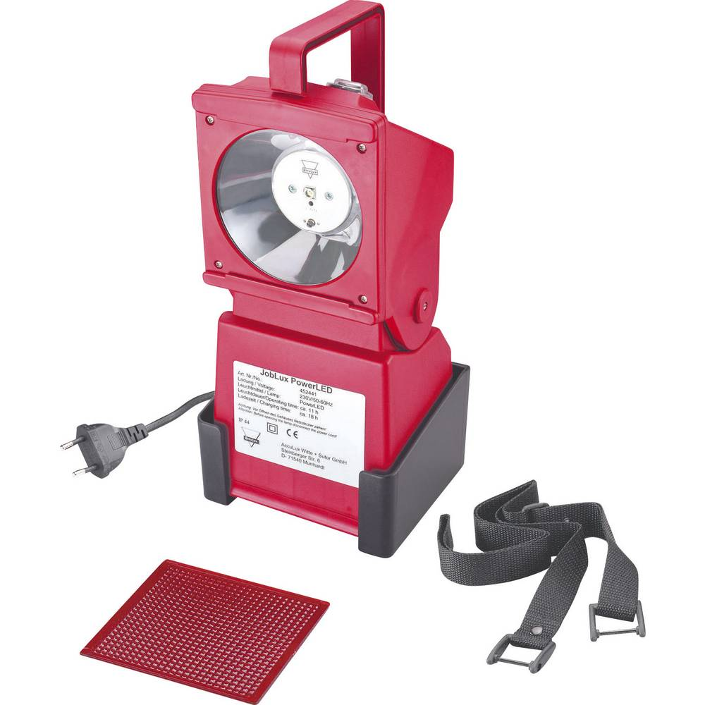 Delovna in zasilna svetilka AccuLux JobLux PowerLED, 452441, signalno rdeča, 5 mm LED 11 h
