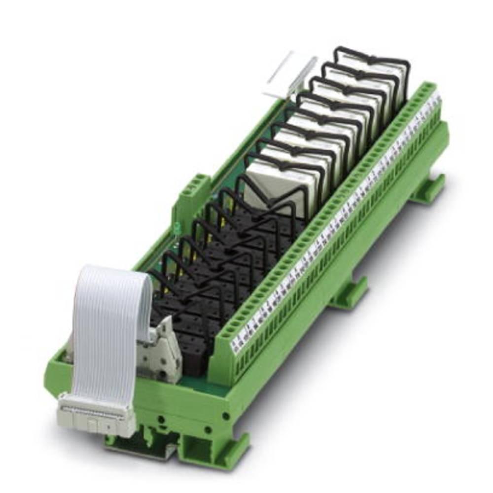 Relejsko tiskano vezje, opremljeno 1 kos Phoenix Contact UMK-16 RM/KSR-G 24/21/E/PLC 1 izmenjevalnik 24 V/DC