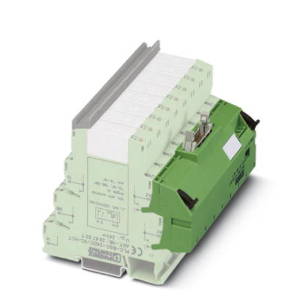 Adapter (value.1292971) Grøn 1 stk Phoenix Contact PLC-V8L/FLK14/OUT/M
