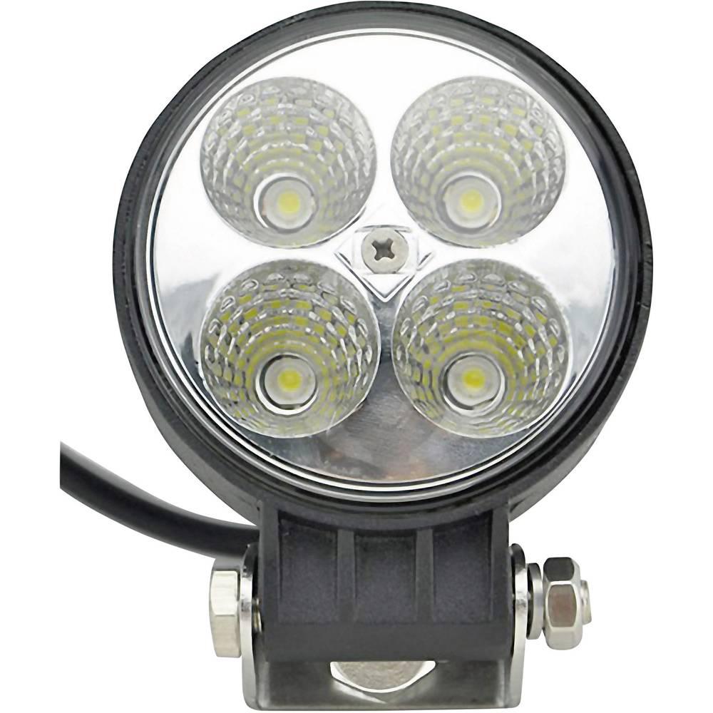 Delovni LED žaromet SecoRüt 12 W 12 V, 24 V (Ø x V) 84 mm x 111 mm 600 lm