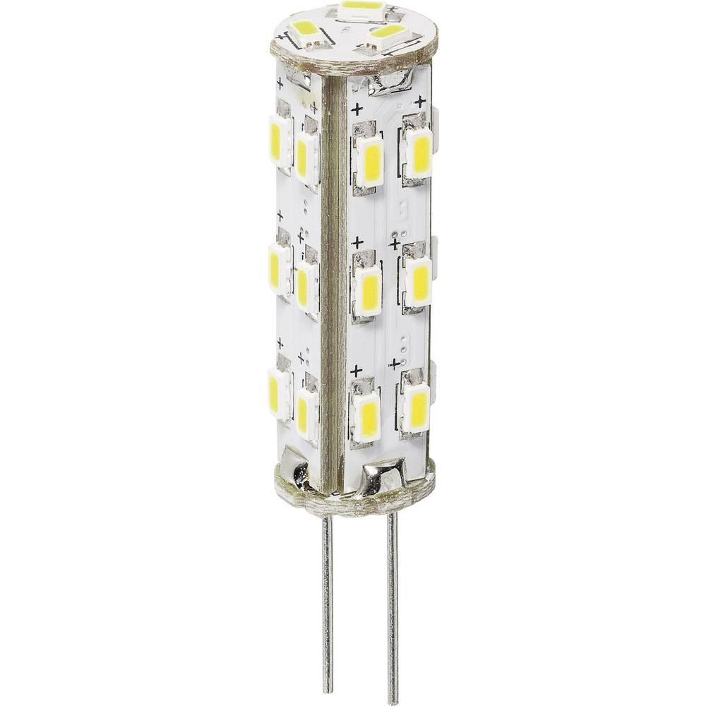 LED žarnica 35 mm DioDor 30 V G4 1.3 W = 20 W topla bela,zatemnilna,vsebina 1 kos DIO-LED27STG4L