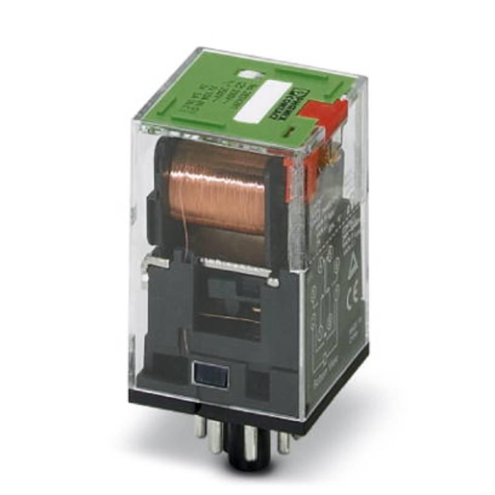 Vtični rele 120 V/AC 10 A 2 x preklopni Phoenix Contact REL-OR-120AC/2X21 10 kosov