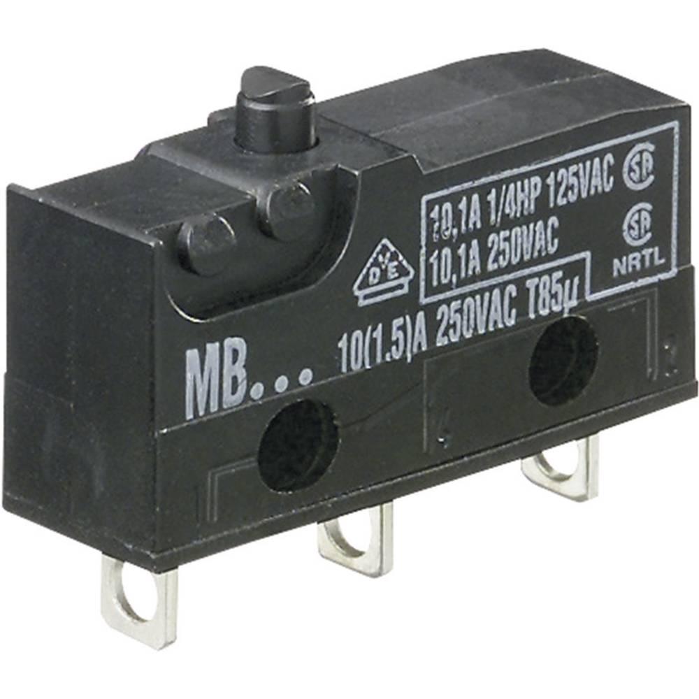 Hartmann Miniaturni mikroprekidač 250 V/AC 10 A MBF5A 1-polni 260009