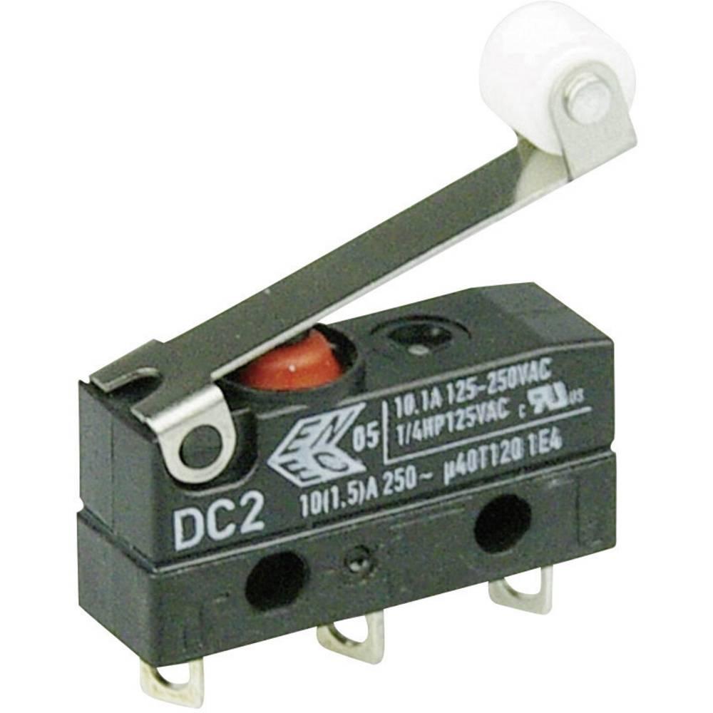 Mikro stikalo 250 V/AC 10 A 1 x vklop/(vklop) Cherry Switches DC2C-A1RC IP67 tipkalno 1 kos
