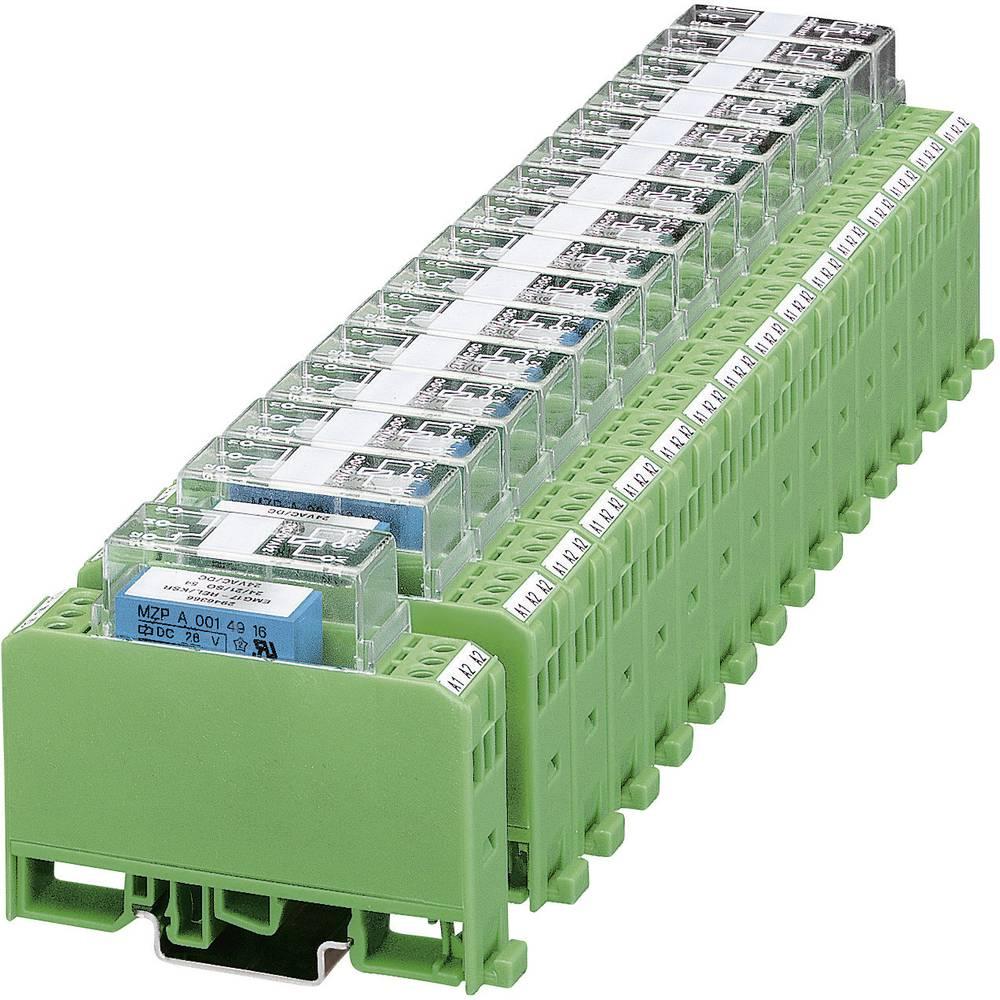 Relejski modul 10 kosov Phoenix Contact EMG 17-REL/KSR-230/21/SO 54 1 izmenjevalnik