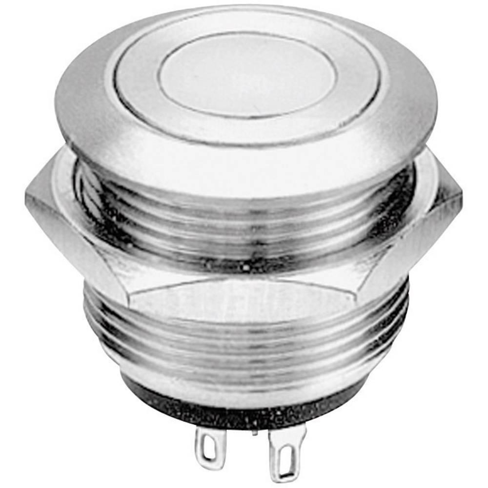 APEM AV09C7L3D2003-Potisna tipka sa zaštitom, osvjetljenje obruča, lemite ušice, 24 V/AC, 0.05A, 1 x uključeno/(uključeno), tipk