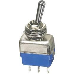 Vippeafbryder APEM 250 V/AC 2 A 1 x (On)/Off/(On) Tastende/0/Tastende 1 stk